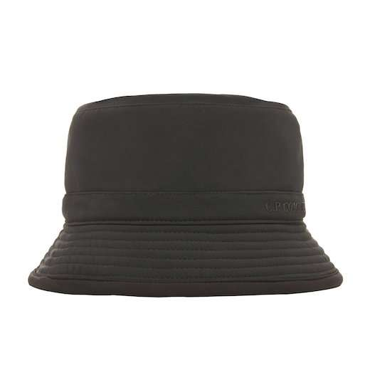 731116711 Details about C.P.Company Soft Shell Bucket Hat Black Coffee
