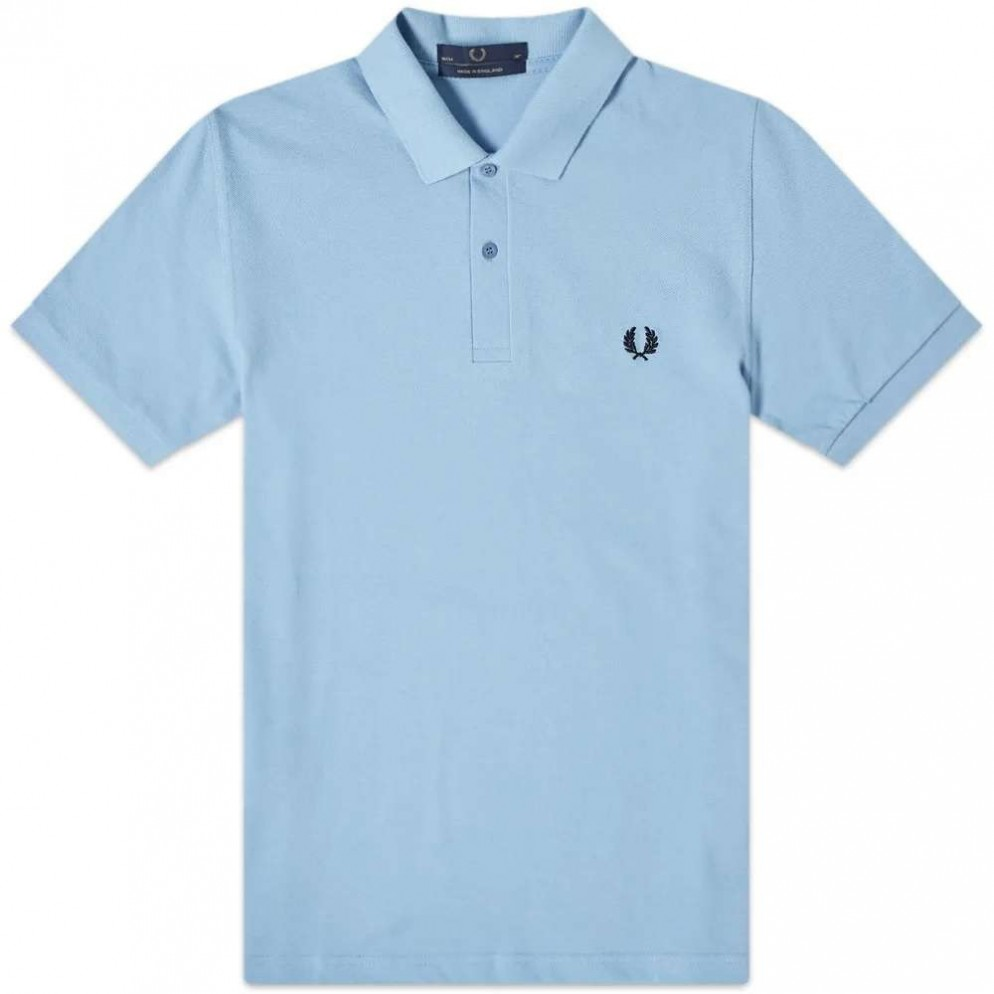 Fred Perry Embroidered T-Shirt Snow White Camiseta