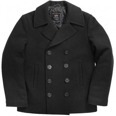 Alpha Industries Peacoat Black