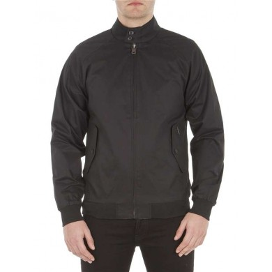 Ben Sherman Harrington Jacket Black