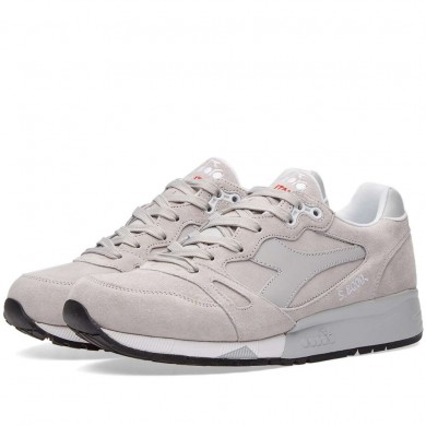 Diadora S8000 Made in Italy Grey Rock