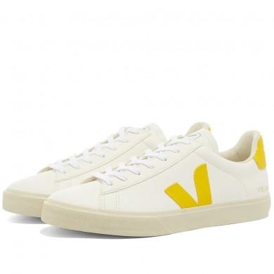 Veja Campo Sneaker White & Yellow