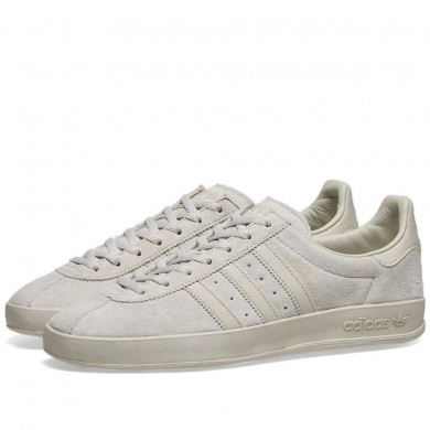 Adidas Broomfield Raw White, Brown & Gold