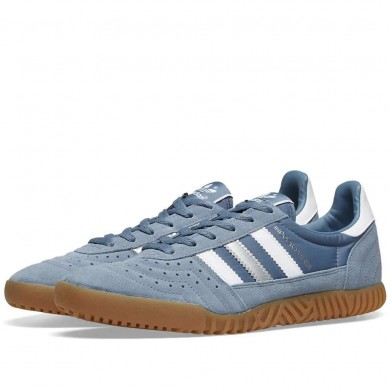 Adidas Indoor Super Raw Steel, White & Gum