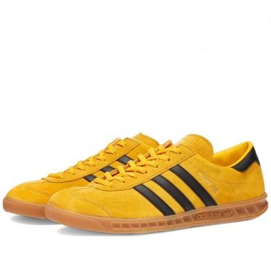 Adidas Hamburg Crew Yellow, Black & Metalic Gold
