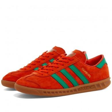 Adidas Hamburg Orange & Green