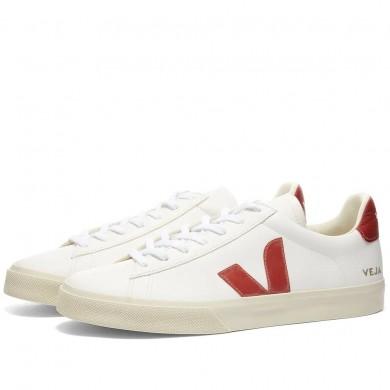 Veja Campo Sneaker White & Rouille