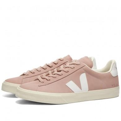 Veja Campo Nubuck Sneaker Babe & White