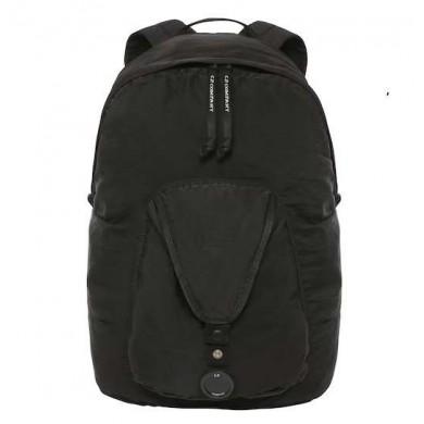 C.P. Company GD Nylon Sateen Lens Backpack Black