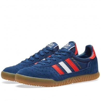 Adidas Indoor TT Super Mystery Blue, White & Red