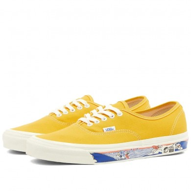 Vans UA Authentic 44 DX OG Yellow Scene Aw