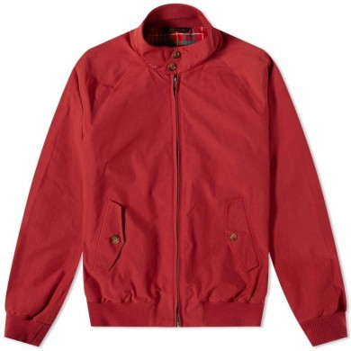 Baracuta G9 Harrington Jacket Ruby Wine