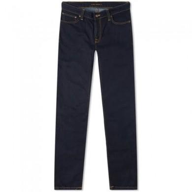 Nudie Jeans Skinny Lin Dry Deep Orange L32