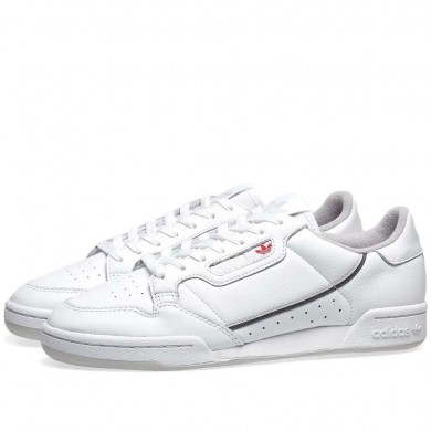 Adidas Continental 80 White & Grey
