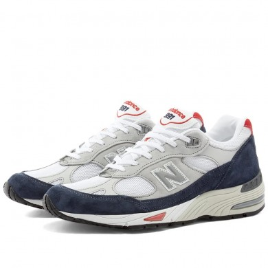New Balance M991GWR - Made in England Grey & Navy