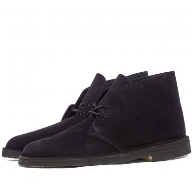 Clarks Originals Desert Boot Navy Suede