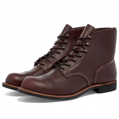 "Red Wing 8119 Heritage 6"" Iron Ranger Boot Oxblood Mesa"