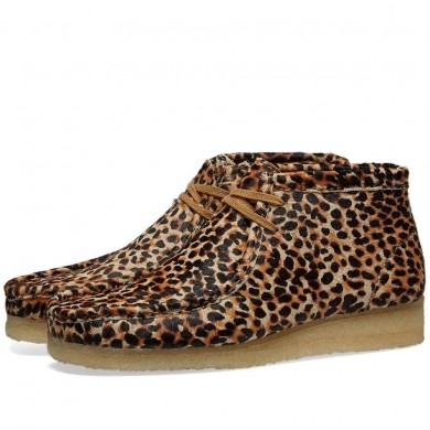 Clarks Originals Wallabee Boot W Animal Print