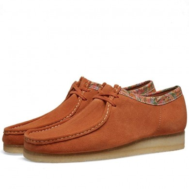 Clarks Originals x Stussy Wallabee Brown Multi