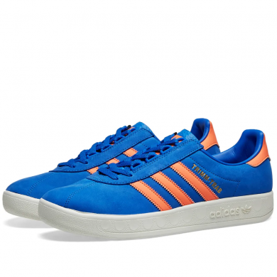 Adidas Trimm Trab Blue, Orange & Cream White EE5743