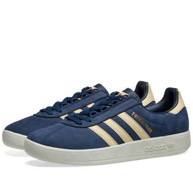 Adidas Trimm Trab Samstag Collegiate Navy, Easy Yellow & Cream White EE5628