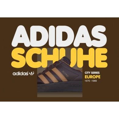 Vintage Adidas Originals Shoes City Series Europe Book