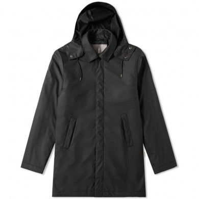 Rains Mac Coat Black