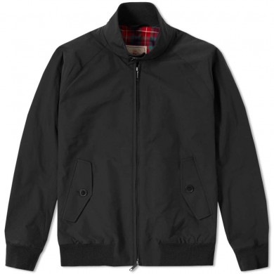 Baracuta G9 Harrington Jacket Off Black