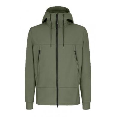 C.P. Company Shell Goggle Jacket Stone Grey