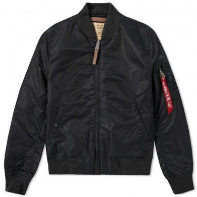 Alpha Industries MA-1 VF 59 Flight Jacket Black