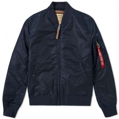 Alpha Industries MA-1 VF 59 Flight Jacket Rep. Blue
