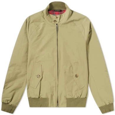 Baracuta G9 Harrington Jacket Olive Green