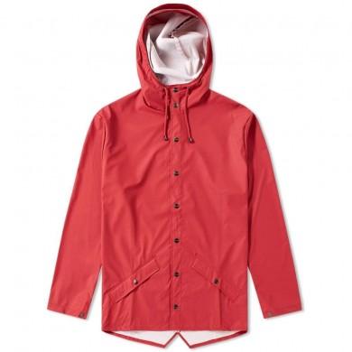 Rains Classic Jacket Scarlet