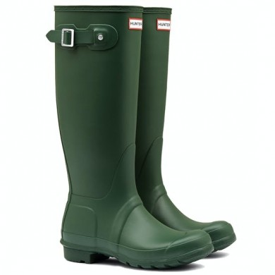 Hunter Original Tall Wellington Boots Hunter Green