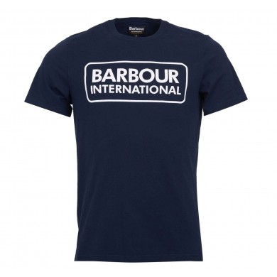 Barbour International Graphic Tee Navy