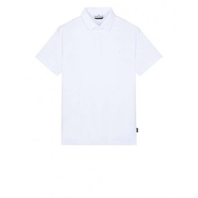 Stone Island 20514 Polo Shirt White