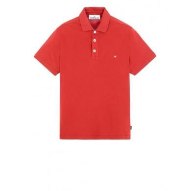 Stone Island 20514 Polo Shirt Brick Red
