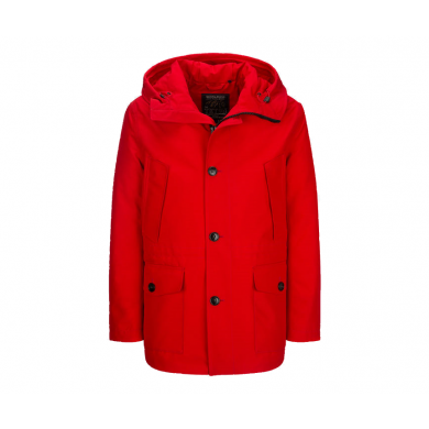 Woolrich Gore-Tex Mountain Parka Red