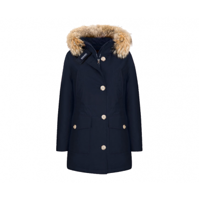 Woolrich W´s Arctic Parka High Collar Melton Blue