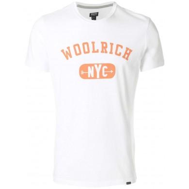 Woolrich NYC Logo Tee White