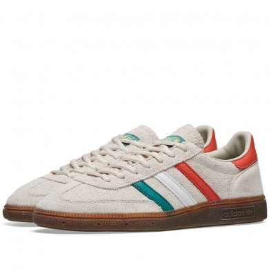 "Adidas Handball Spezial ""St. Patrick´s Day"" Clear Brown, White & Gold"