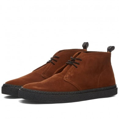 Fred Perry Hawley Suede Boot Ginger