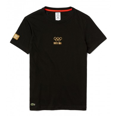 Lacoste Sport Olympic Heritage Collection Tee Black
