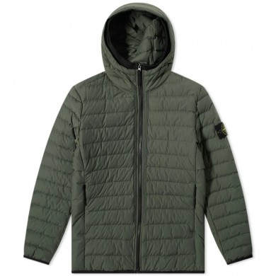 Stone Island 42725 Lightweight Puffer Jacket Sage Green