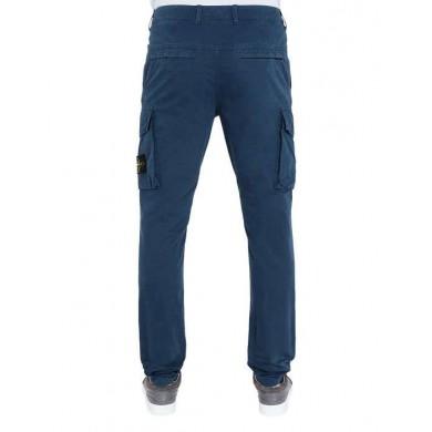 Stone Island Cargo Pants 318WA Old Dye Treatment Marine Blue