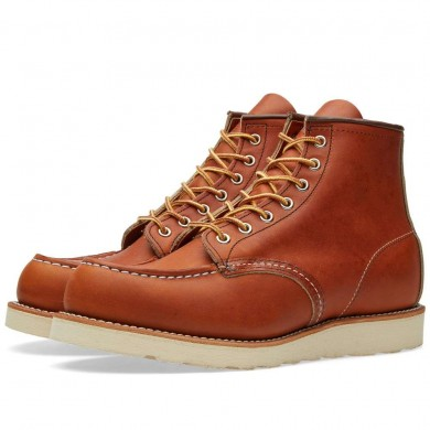 "Red Wing 875 Heritage Work 6"" Moc Toe Boot Oro-Legacy"