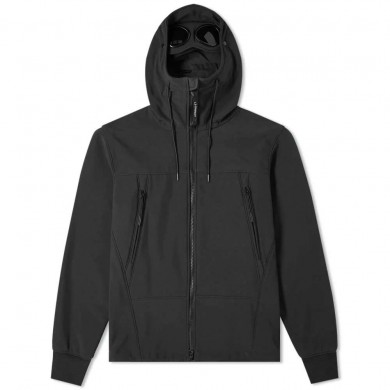 C.P. Company Shell Goggle Jacket Black