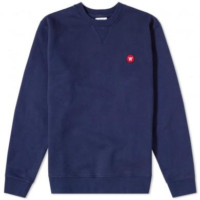 Wood Wood Tye Sweatshirt Navy