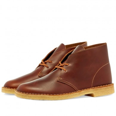 Clarks Originals Desert Boot Tan Leather
