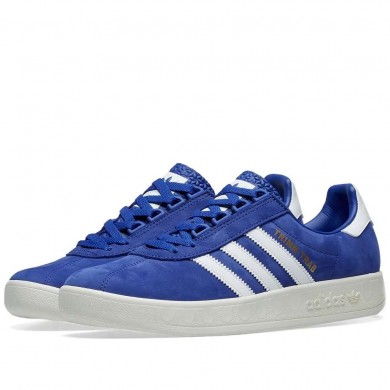 Adidas Trimm Trab Active Blue, White & Gold BD7628